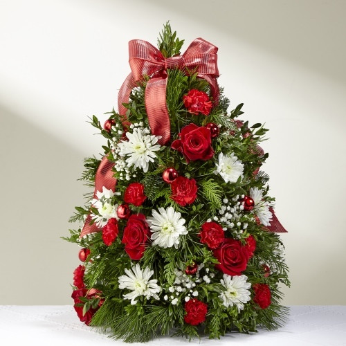 Make It Merry Tree Boxwood Tree Florist Pittsburgh Pennsylvania