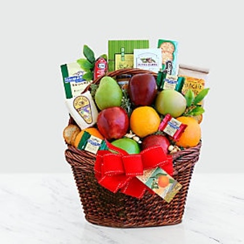 Large Fruit and Gourmet Basket