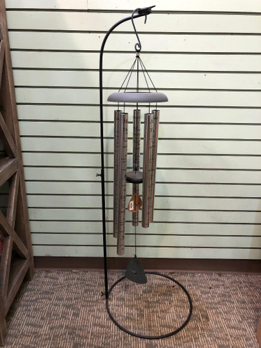 Large Wind Chimes on Stand