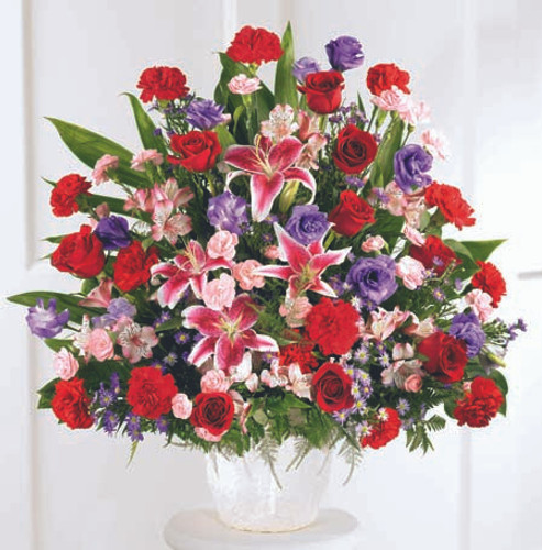 Eternal Solace Arrangement Florist Pittsburgh Pennsylvania