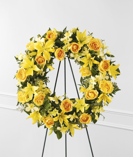 Ring of Friendship Wreath Pittsburgh Pennsylvania Florist
