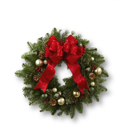 Winter Wonders Wreath Pittsburgh Pennsylvania Flower Delivery