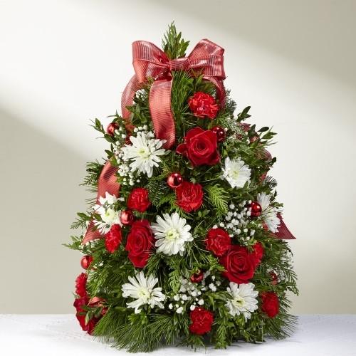 Make It Merry Tree Boxwood Tree Florist Pittsburgh Pennsylvania