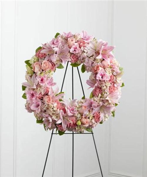 Soft Pink Wreath
