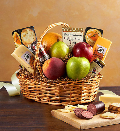 Assorted Fruit and Gourmet Basket
