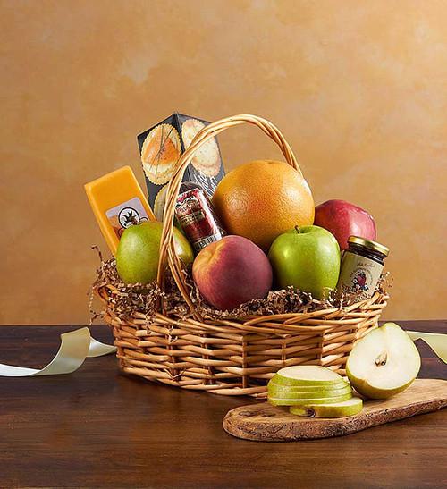 Petite Fruit and Gourmet Basket