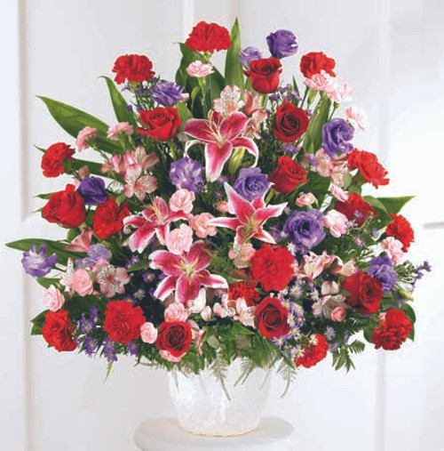 Eternal Solace Arrangement Florist Pittsburgh Pennsylvania