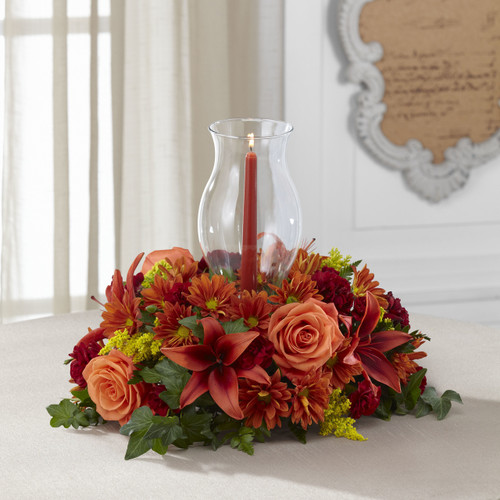 Heart of Harvest Centerpiece Florist Pittsburgh Pennsylvania