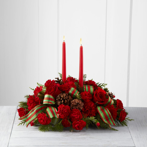Holiday Classics Centerpiece by Better Homes and Gardens Pittsburgh Pennsylvania Florist