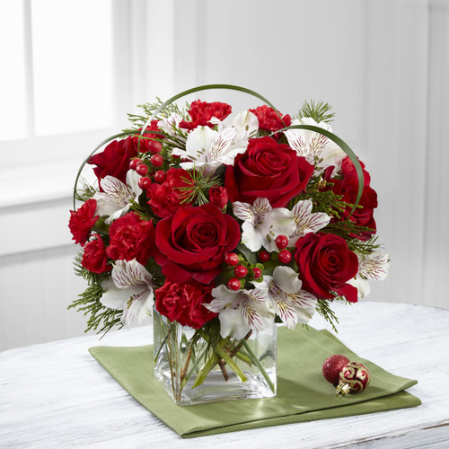 Holiday Hopes Bouquet by Better Homes and Gardens Pittsburgh Pennsylvania Flower Delivery