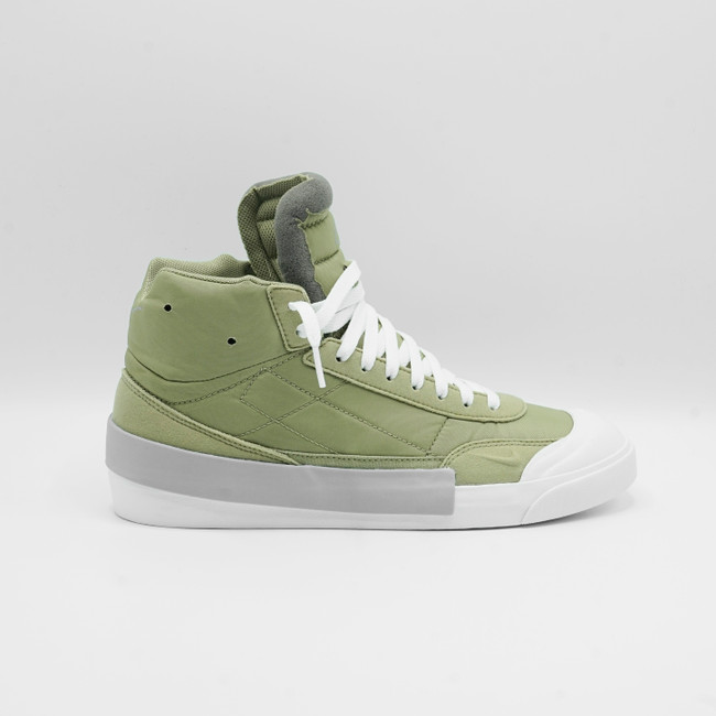 NIKE DROP -TYPE MID -DUSTY OLIVE WOLF GREEN