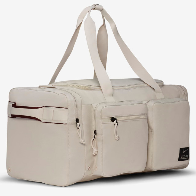 NIKE DUFFLE BAG WHITE