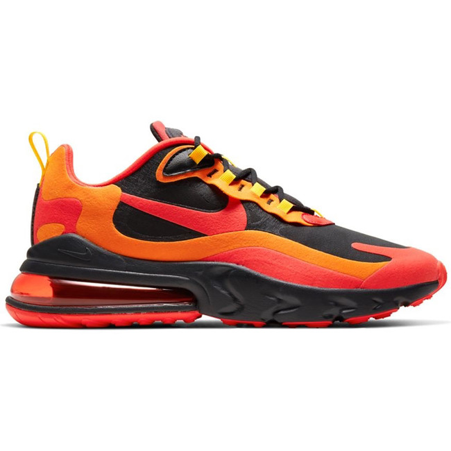 AIR MAX 270 REACT BLACK CHILE RED