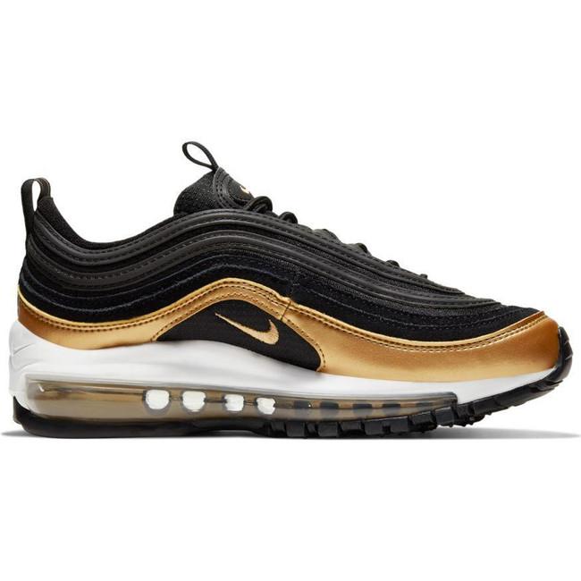 Nike Air Max 97 (GS) BLACK/METALLIC GOLD