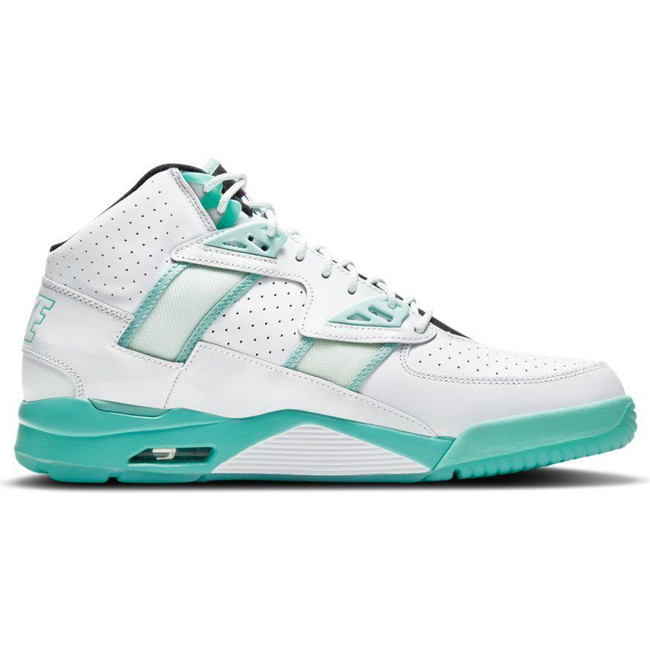 AIR TRAINER SC HIGH WHITE/TROPICAL TWIST-BARELY GREEN