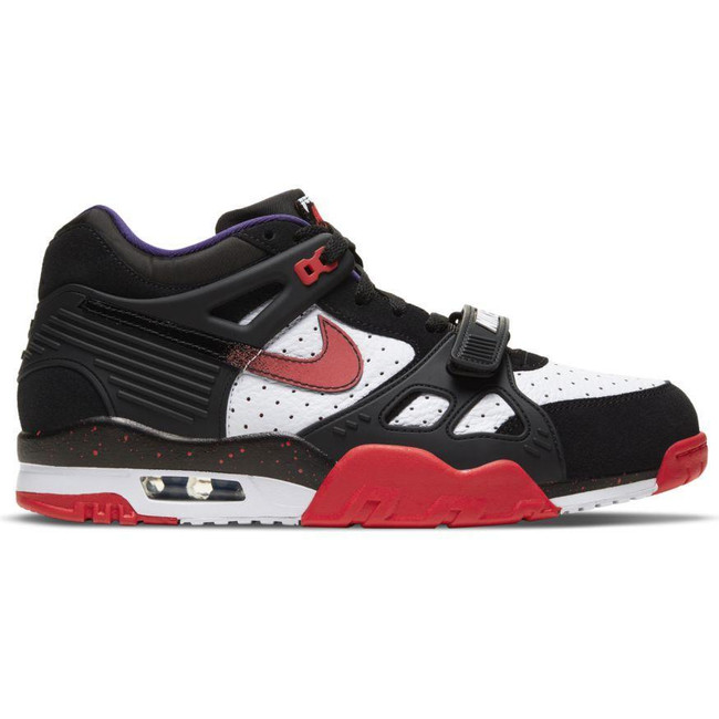 "Nike Air Max Trainer 3 ""DRACULA"" BLACK/UNIVERSITY RED-WHITE-NEW ORCHID"