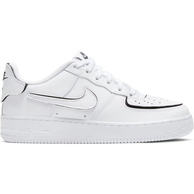 Nike Air Force 1/1 WHITE/BLACK
