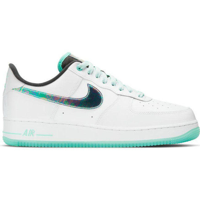 NIKE AIR FORCE 1 '07 LV8 WHITE/TROPICAL TWIST-BARELY GREEN