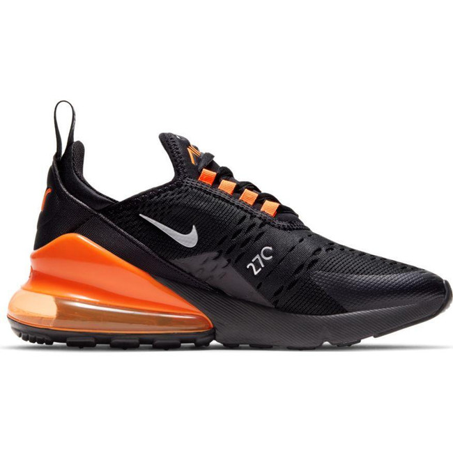 Nike Air Max 270 (GS) BLACK/METALLIC SILVER