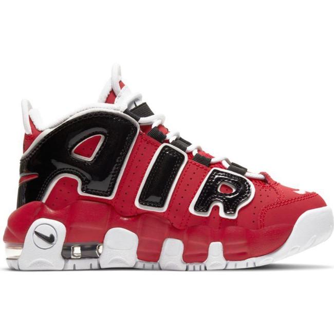 Nike Air More Uptempo (PS) VARSITY RED/WHITE-BLACK