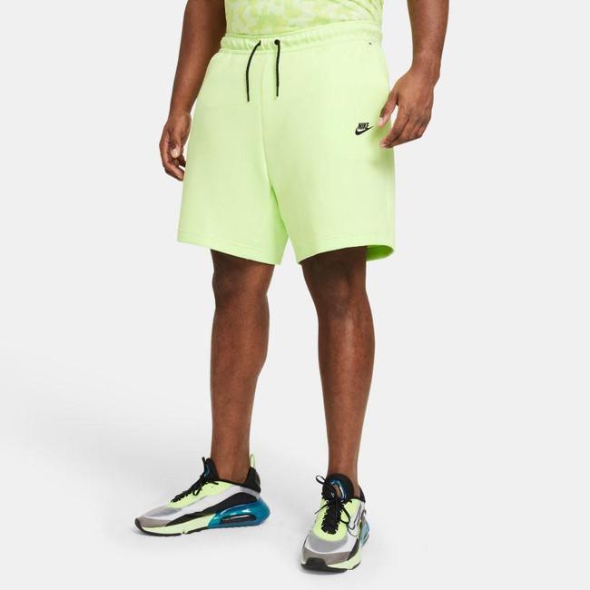 Nike Sportswear Tech Fleece Men's Shorts LT LIQUID LIME/BLACK