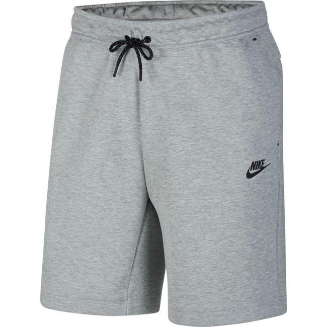 Nike Sportswear Tech Fleece Men's Shorts DK GREY HEATHER/BLACK