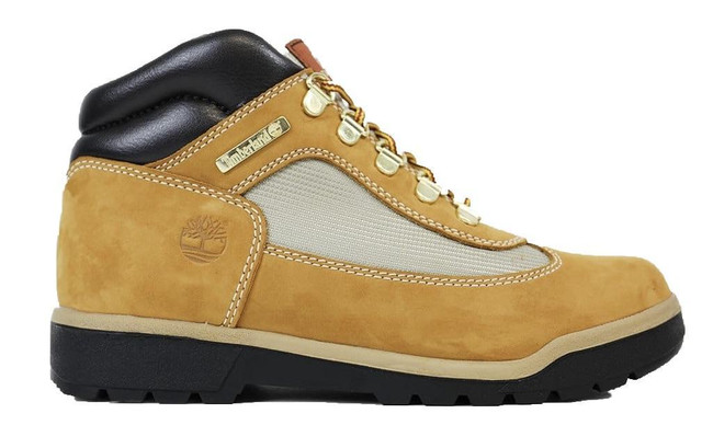 Timberland Field Boot L/F Mid Boot (JUNIOR) Wheat Nubuck