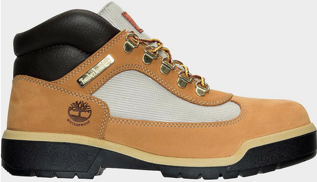 Timberland  Field Boot WP L/F Mid Boot (MENS) Wheat Nubuck