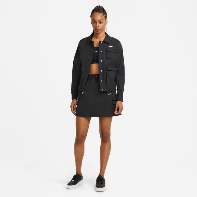Nike Sportswear Swoosh Women's Skirt BLACK/BLACK