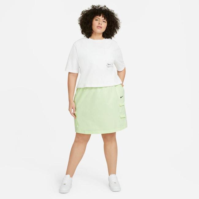 Nike Sportswear Swoosh Women's Skirt BARELY VOLT