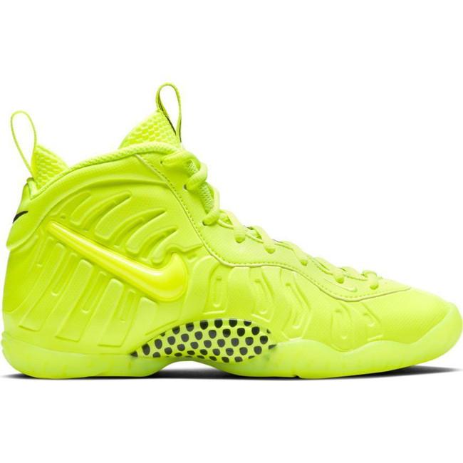 Nike Little Posite Pro (GS) VOLT/VOLT-VOLT-BLACK