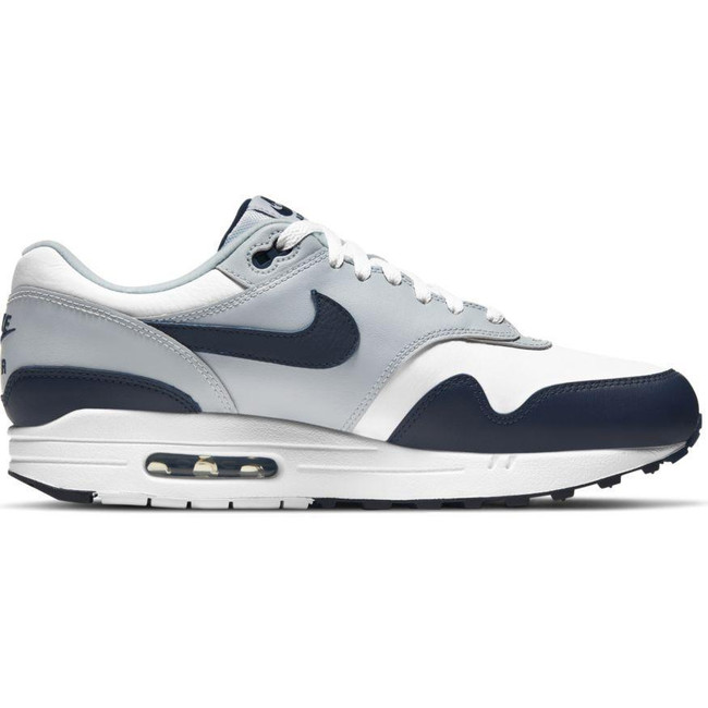 Nike Air Max 1 LV8 WHITE/OBSIDIAN-WOLF GREY-BLACK