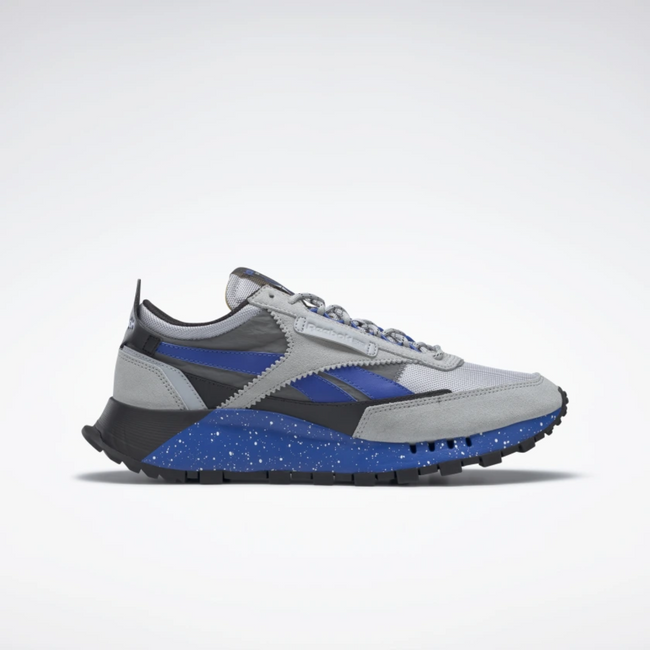 Reebok CLASSIC LEATHER LEGACY SHOES  Pure Grey 3 / Court Blue / Cold Grey 2