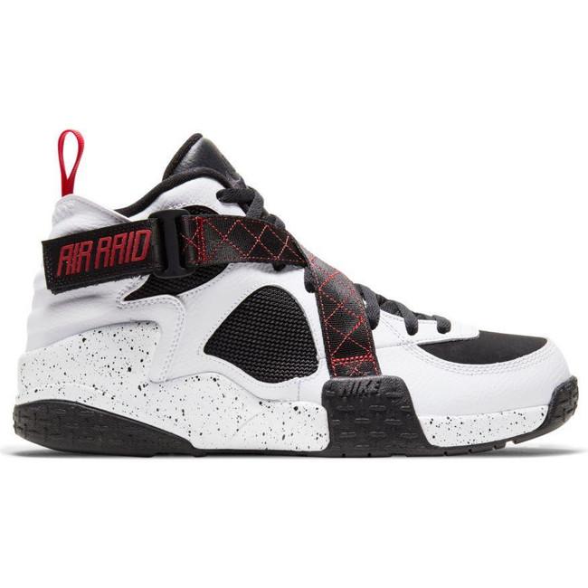 Nike Air Raid WHITE/UNIVERSITY RED-BLACK