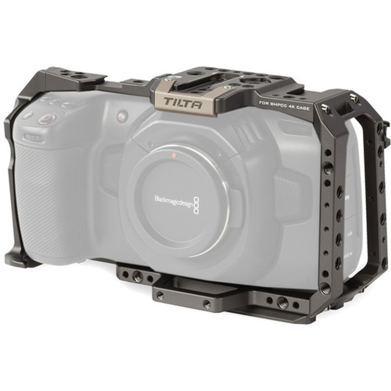Tilta Full Camera Cage For Blackmagic Design Pocket Cinema Camera 4k 6k Tilta Gray