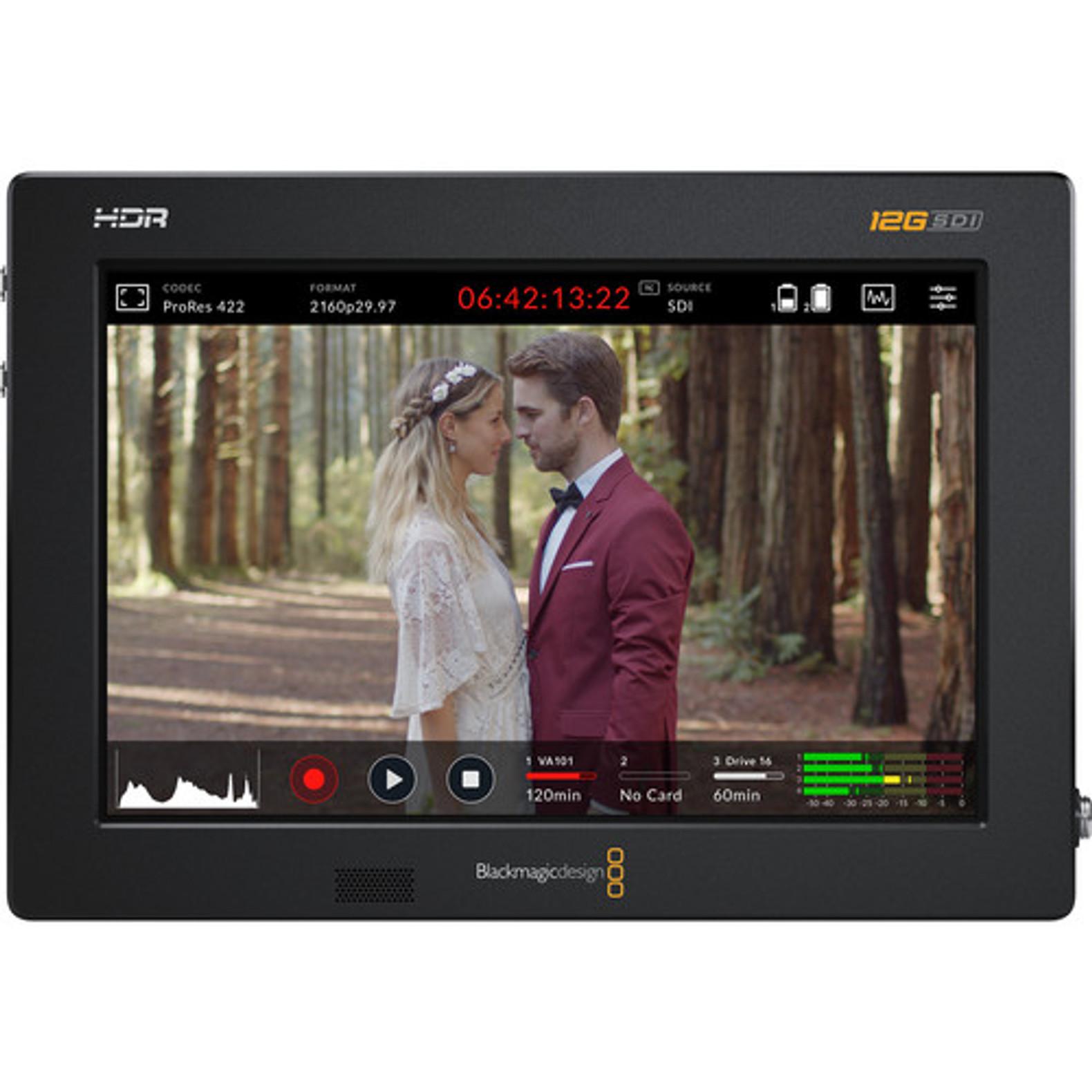 Blackmagic Design Video Assist 7 12g Sdi Hdmi Hdr Recording Monitor