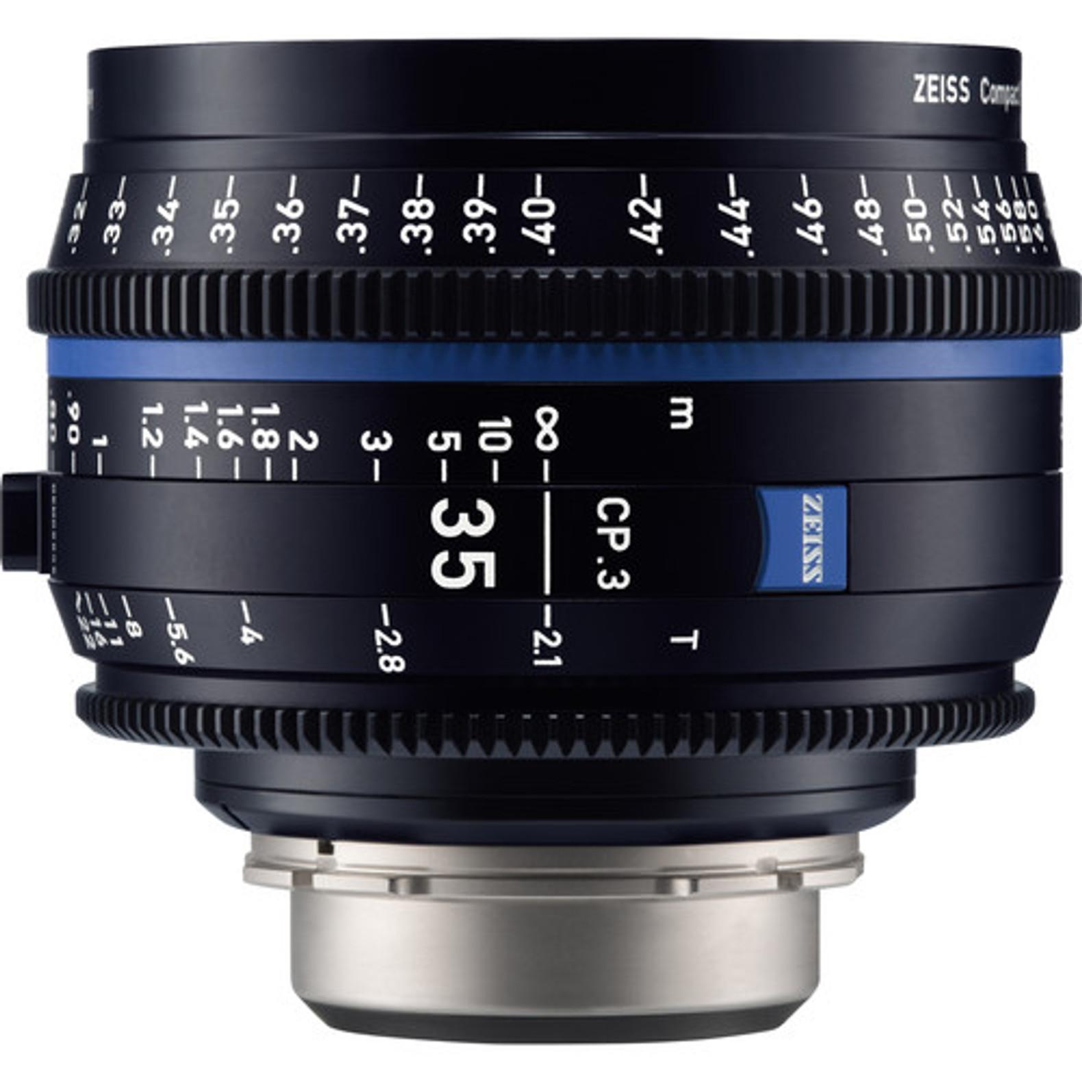 Zeiss CP 3 35mm T2 1 Compact Prime Lens (Nikon F Mount)