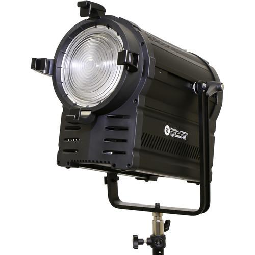Intellytech Light Cannon F-165 DAYLIGHT LED Fresnel w// DMX Silver edition