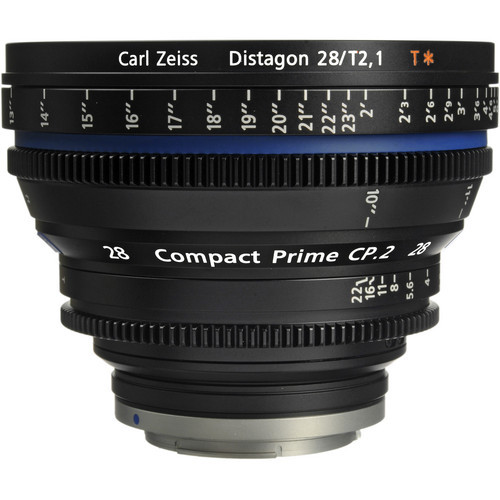 Zeiss Compact Prime CP 2 28mm/T2 1 Cine Lens (EF Mount)