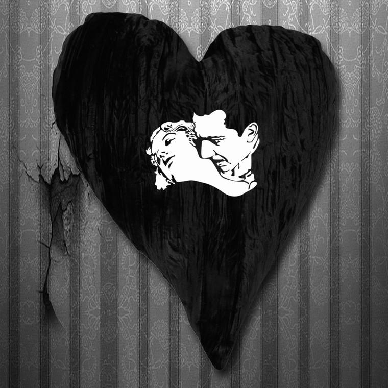 "Bela Lugosi Embroidered 18"" Home Decor Throw Pillow"