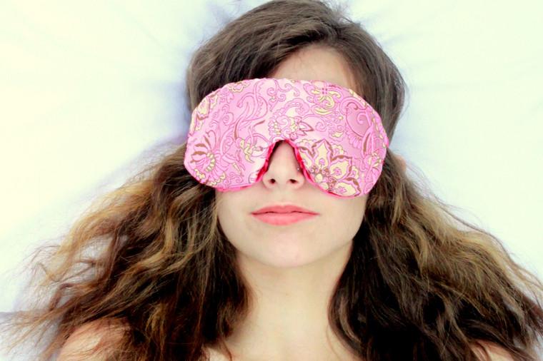 Sleep Eye Mask Pillow - Pinkalicious