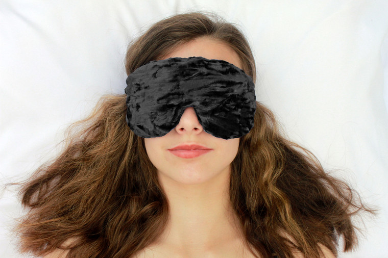 Sleep Eye Mask Pillow - Black
