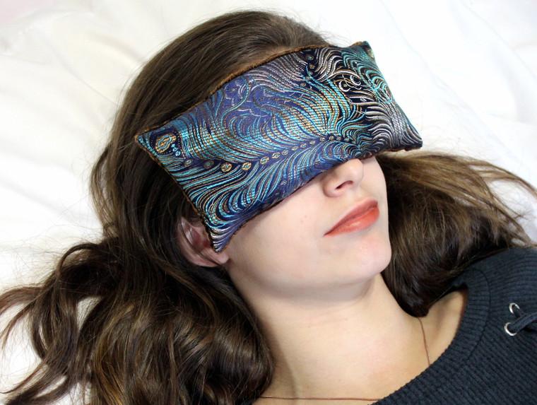 Eye Pillow - Dark Turquoise