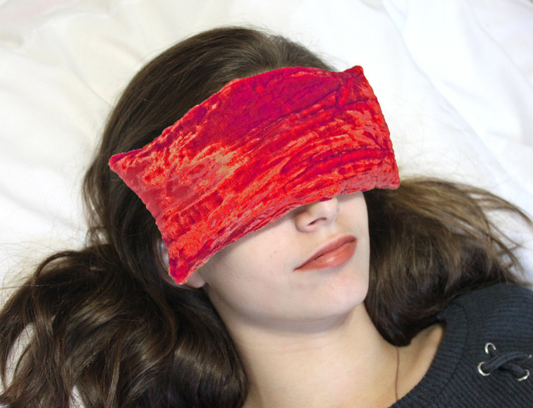 Eye Pillow - Cherry Red