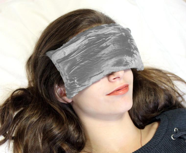 Eye Pillow - Silver