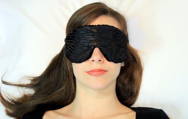 Sleep Eye Mask Pillow - Black Magic