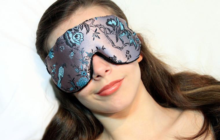 Sleep Eye Mask Pillow - Birds in Paradise