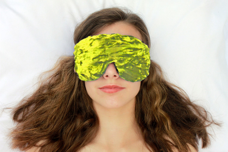 Lime Sleep Eye Mask by Candi Andi