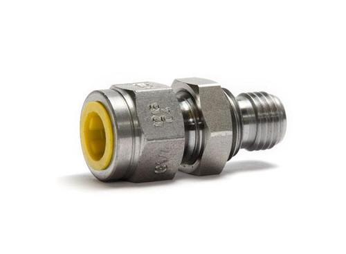 """Druckanschluss BX 1215 Außengewinde auf G1/4""""Innengewinde -Schott"""
