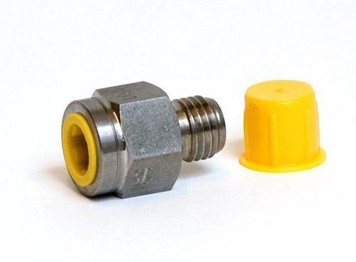 """Adaptador de presión Bx 1215 macho a G1/4"""" hembra"""